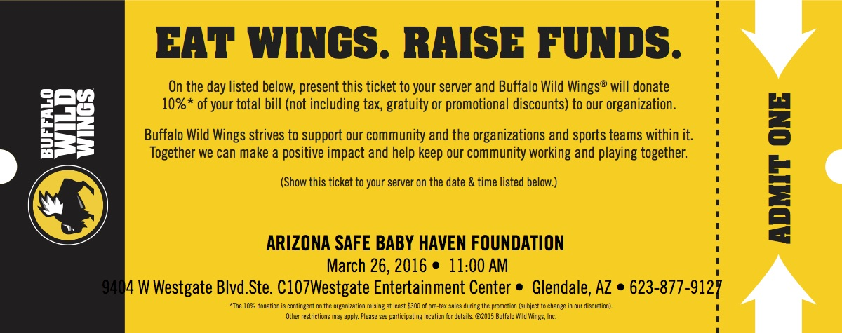 If you have a recent Buffalo Wild Wings receipt, you can go to the website tongueofangels.tk to enter the Buffalo Wild Wings Grill & Bar Customer Satisfaction Survey and leave your feedback about your recent tongueofangels.tk completion of the survey, you will receive a coupon for 5 free wings.