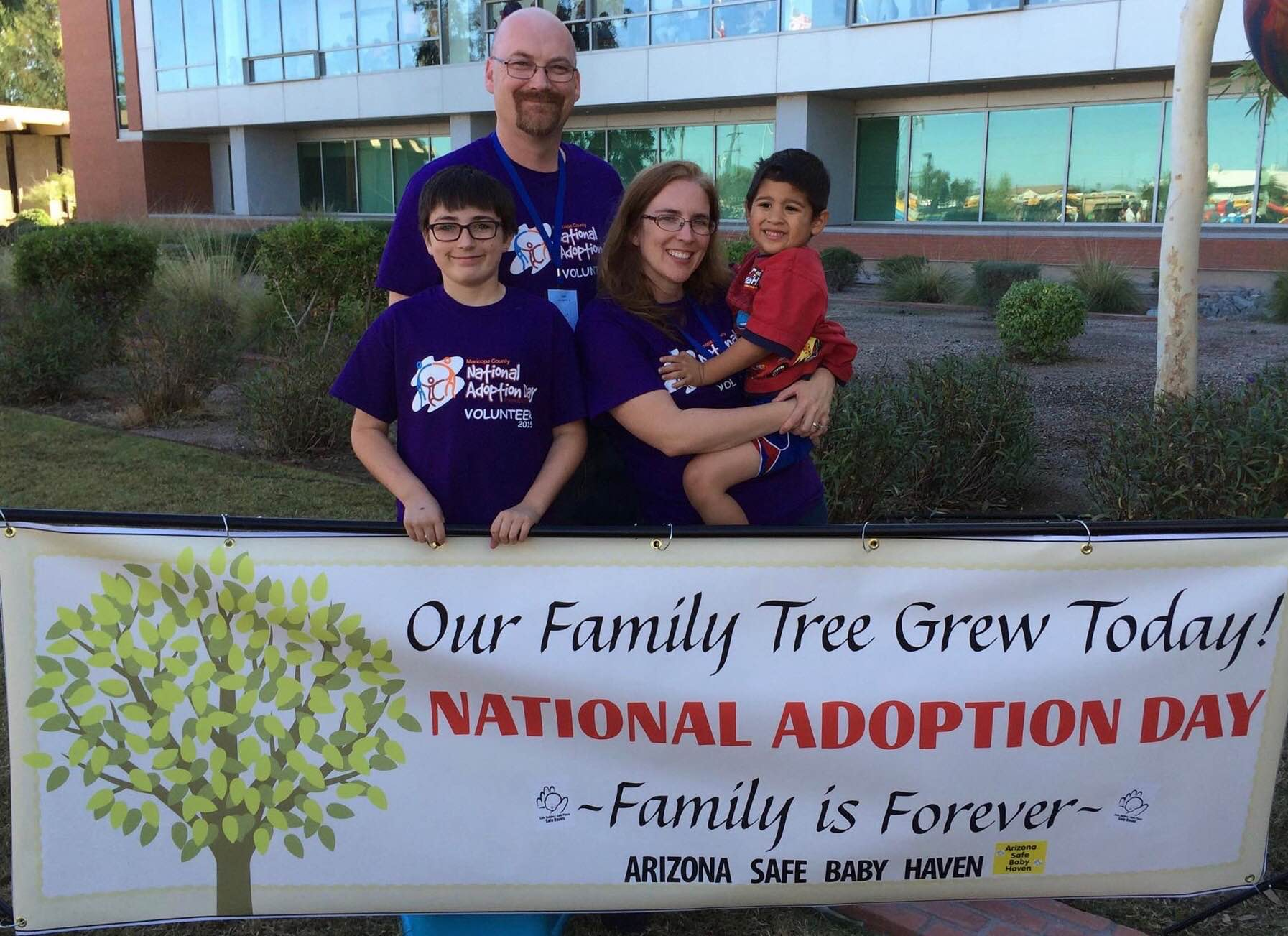 Family Celebrates 5th Year With Safe Haven Baby